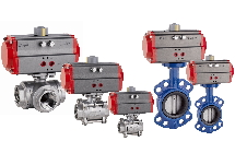 VALVE WITH PNEUMATIC ACTUATOR